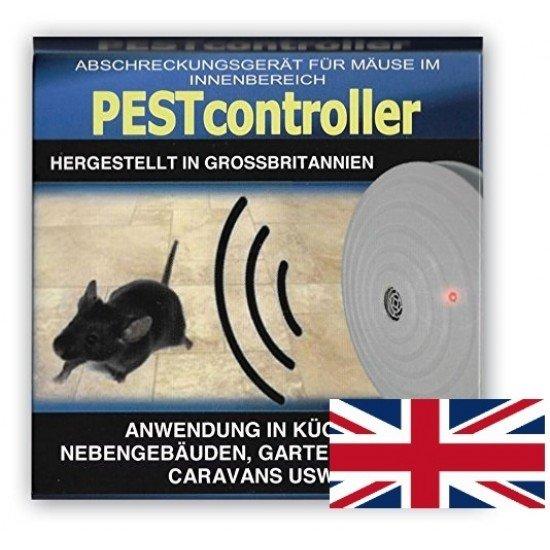 Pest controller ултразвуков уред прогонващ мишки за 92 кв. м. - захранване с батерия 9V