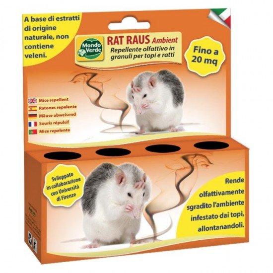 Репелент RAT RAUS AMBIENT прогонващ мишки, плъхове