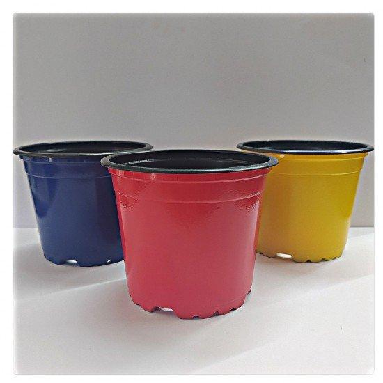Цветна работна саксия-гланц Ф10.5